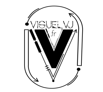 logo visuek vj mask_black