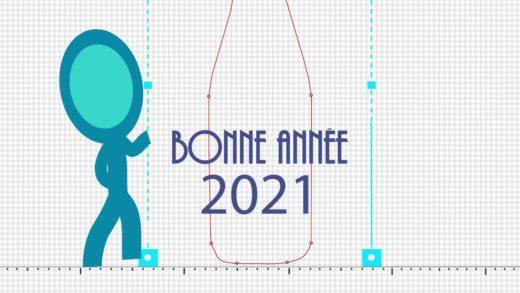 Voeux Vj DFrank Visuel VJ pour 2021